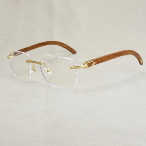 Reading Glasses for Men Eyeglasses Frame Women Wood Computer Optical Prescripiton Carter Glasses for Male Oculos Lady Fashion