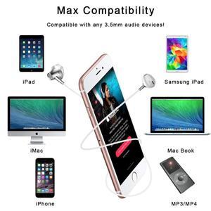 Image 2 - AZiMiYO Metal Stereo Bass earphone with Micophone for Phone Wired Music earphones for Phones Huawei iphone ear phone