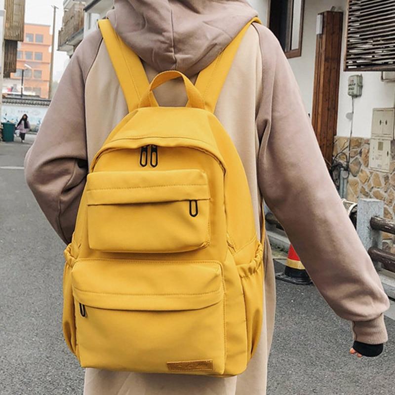 2020 Новый женский нейлоновый водонепроницаемый рюкзак для женщин, школьные сумки для девочек подростков, Женский дорожный рюкзак с несколькими карманами Mochilas|Рюкзаки| | АлиЭкспресс