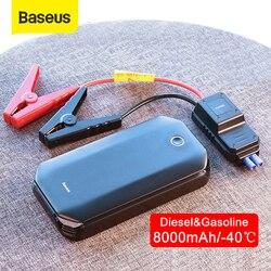 Baseus Auto Jump Starter Starten Apparaat Batterij Power Bank 800A Jumpstarter Auto Buster Emergency Booster Car Charger Jump Start