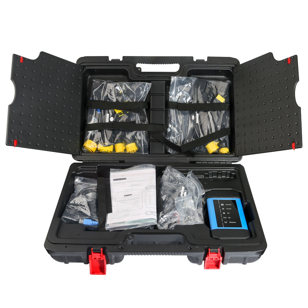 LAUNCH X431 HD3 тяжелых грузовиков диагностический адаптер для запуска X431 V + X431 Pro3 X431 PAD3 USB Bluetooth полный спектр