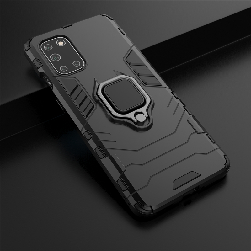 Armor Shockproof Ring Holder Case for Samsung Galaxy M51 S20 FE A42 5G Cases Hard PC Soft TPU Hybrid Rugged Magnetic Back Cover|Fitted Cases| - AliExpress