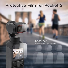 Screen-Film Gimbal-Protector Camera-Lens Osmo-Pocket Protective-Film-Accessory for DJI