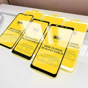 Image 2 - Verre de protection 9D sur le pour Xiaomi redmi note 7 6 5 8 PRO protecteur décran pour redmi 6 PRO 6A verre trempé sur redmi K20 PRO