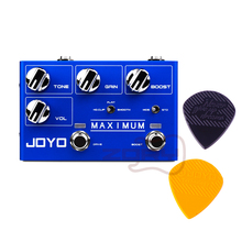 JOYO R-05 MAXIMUM Overdrive Guitar Effect Pedal Overdrive Pedal True Bypass Overdrive Electric Guitar Pedal biyang x drive overdrive guitar effect pedal stompbox for electric guitar chipset changeable to create diffenet tone od 8