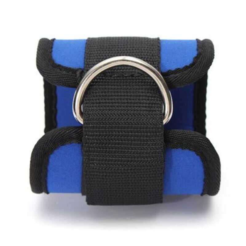 D-ring correa de anclaje de tobillo, cinturón de gimnasio, accesorio de Cable, correa para muslo, pierna, Fitness, ejercicio, levantamiento de pesas, soga de entrenamiento