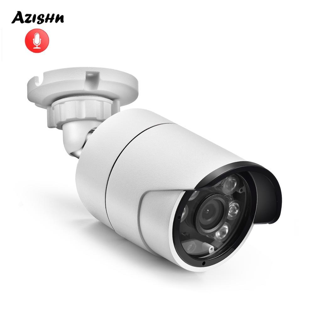 AZISHN H.265X Audio Security IP Camera 5MP 1/2.8