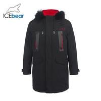 2019 New Men's Winter Coat Stylish Men's Down Jacket Hooded Coat Casual Man Brand Clothing MWY19860D