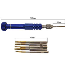 Screwdriver Cellphone-Watch-Kit Repair Precision-Torx Mixed-Set-Tool iPhone for 4/5/6/6s