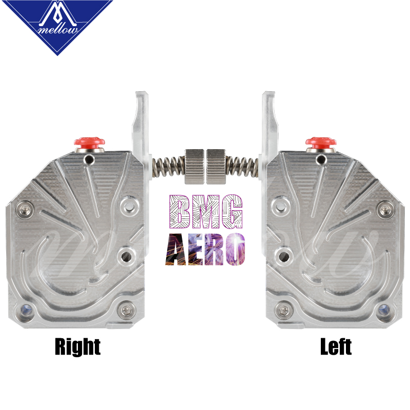 Mellow NF-BMG Aero V6 HOTEND KIT Clone Titan Aero Structure Extruder Dual Drive BMG Extruder For Ender 3 CR10 Prusa I3 MK3S