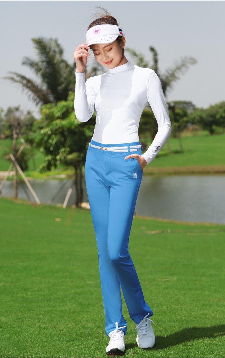 Calça Tênis de Golfe Sólida Golfhousut