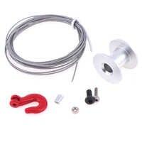 25T Steering Gear Servo Winch Wheel Steering Gear front For 1/10 RC Crawler Car Parts Accessoris