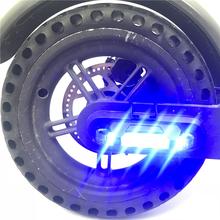 Lampka ostrzegawcza skutera bezpieczeństwo w nocy światła ostrzegawcze latarka LED Strip światło dla Xiaomi Mijia M365 akcesoria do skuterów elektrycznych tanie tanio CN (pochodzenie) Brak Other HYH005