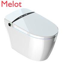 Цельный умный туалет с резервуаром для воды без ограничения