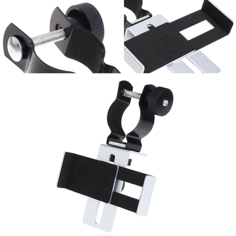 24-38mm Microscope Telescopes Binoculars Monocular Metal Universal Photography Bracket Mount For Phone Connection Adapter Tool