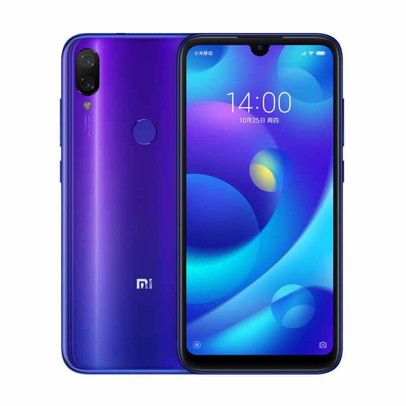 "Versión Global Xiaomi mi jugar 4GB RAM 64GB ROM teléfono MTK Helio P35 Octa Core Dual 12MP + 2MP AI Cámara 5,84 ""19:9 Smartphone"