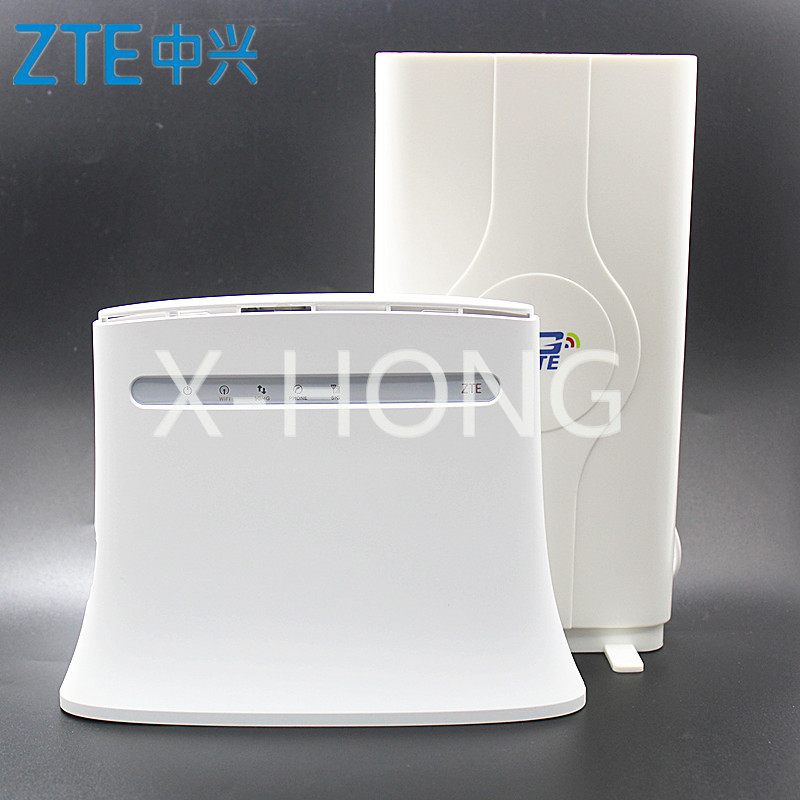 ZTE Rotuer 4G Router MF283 MF283u With Antenna 4g LTE Router With Rj11 4G Wireless Wi-Fi Router Hotspot Wireless PK Huawei B593