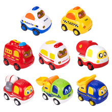 Cartoon Toys Cute Plastic Pull Back Cars Toy Cars for Child Wheels Mini Car Model Funny Kids Toys for Boys Girls subcluster 6 pcs pull back car toys car baby mini cars cartoon pull back car kids toys for children boy gifts