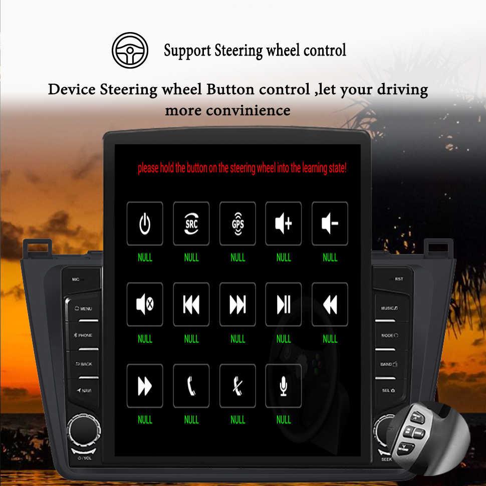 """Deckless 9.7 """"車のマルチメディアプレーヤーマツダ 3 bl 2009 2010 2011 2012 2013 アンドロイド 10.0 4 グラム + 64 3gカーラジオのgpsオーディオなし 2din"""