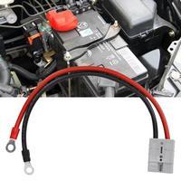 Conector de alimentación de 50A y 600V con Cable de extensión cargador conductor de doble Polo para carretilla elevadora, batería de alta corriente para coche, enchufe de Anderson