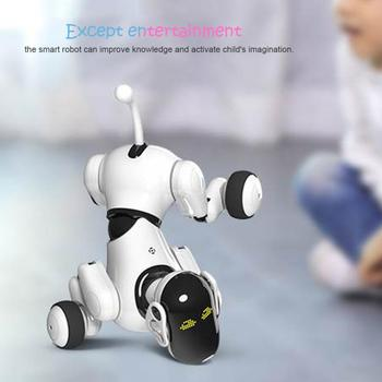 Interactive Robot Puppy Electronic Pet Dog Toy for Kids Smart RC Robot Dog Intelligent Voice and app-controlled Robotic Dog Gift lnteractive smart robot dog child toy smart light dancing robot dog toy electronic pet child birthday gift toys for children
