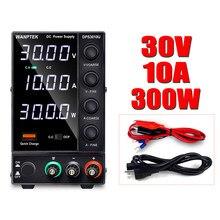 Fuente de alimentación de laboratorio 30v 10a, conmutación ajustable, regulador de voltaje de fuente de Banco variable, 220v 110v