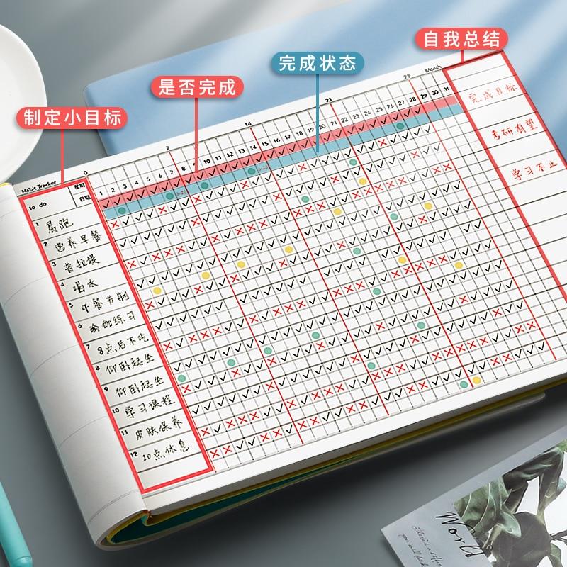 Записная книжка для самостоятельной подготовки, записная книжка, записная книжка для определения привычки