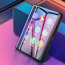 Новое поступление ruizu m7 металлический Bluetooth 5,0 MP4 плеер встроенный динамик экран 2,8 дюйма с электронной книгой шагомер запись радио видео