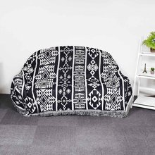 Nordic Geometric Bohemian Sofa Throw Rug Cover Couch Lounge Chair Blanket Bed Sheet Living Room Couch Cover Blanket Throw Decor(China)