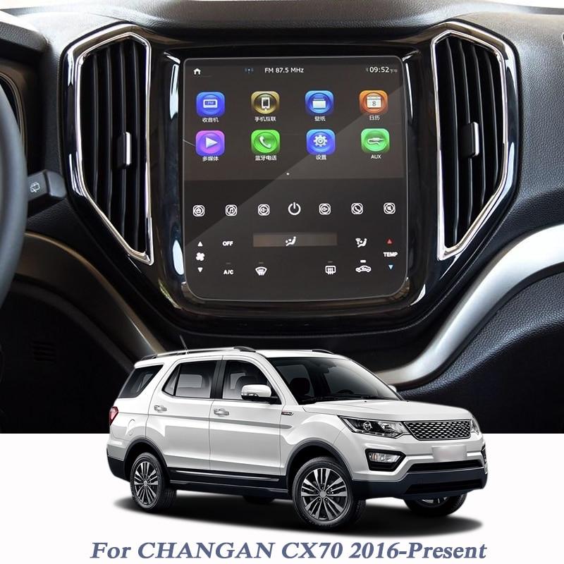 Otomobiller ve Motosikletler'ten Otomotiv İçi Çıkartmaları'de Otomatik CHANGAN CX70 2016 Present GPS Navigasyon Ekran Cam koruyucu film GPS Ekran koruyucu film Iç Aksesuarları title=