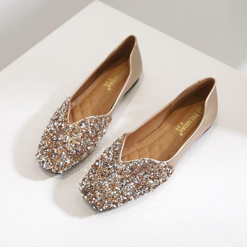 Plus Size 43 Designer Flat Shoes Women