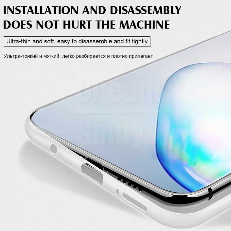 Роскошный ультра тонкий 0,26 мм полипропиленовый чехол для Samsung Galaxy S8 S9 S10 Plus S10e чехол для Note 8 9 10 Pro противоударный чехол
