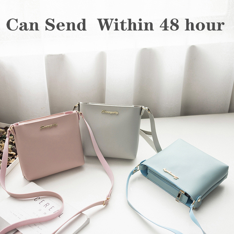 2020 Spring Brand Messanger Square Sling Bag Lady Bag Versatile Shoulder Bag Shoulder Bag Mobile Phone Bag Bag A Generation Red