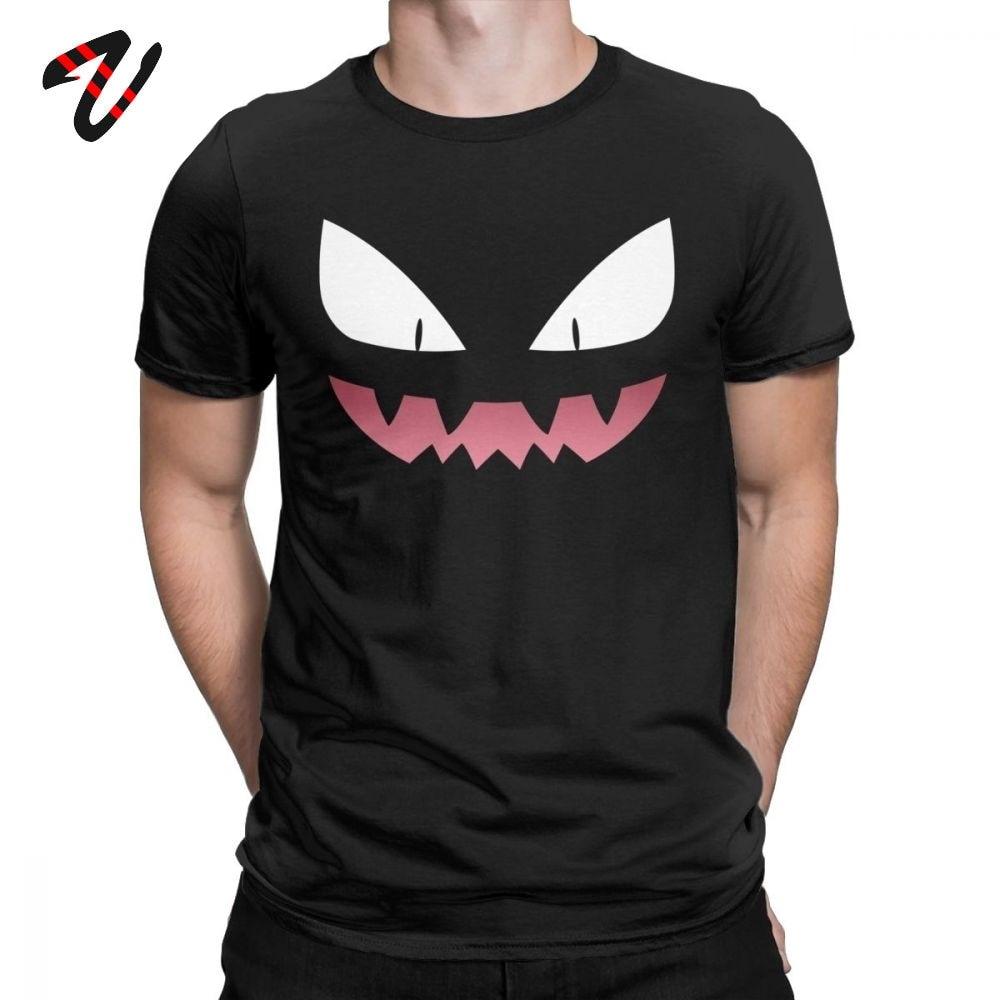 Pokemon  Men T-Shirt Haunter Ghost Gengar Kaiju Pokeball Pikachu Anime T-Shirt  Tees  Shirts Classic