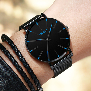 Blue Dial Men Watches Casual N