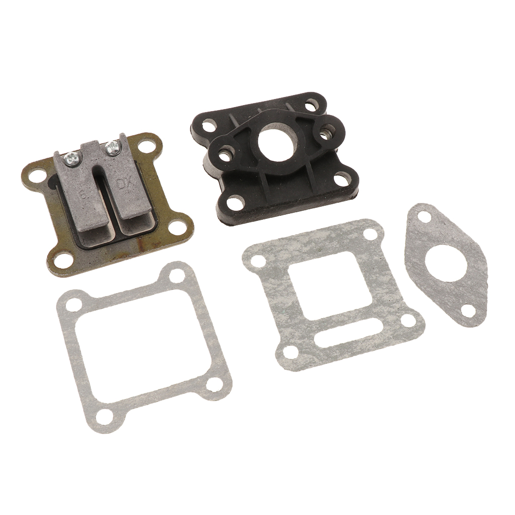 47cc 49cc Engine Pocket Bike Reed Carb Intake Gasket Mini Dirt Moto ATV Quad
