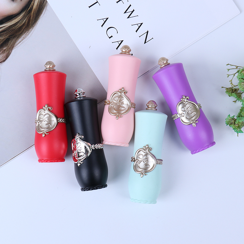 1pcs Empty Lipstick Tube Palace Style DIY Lip Balm Stick Refillable Bottle Container Makeup Tools Accessories Women Beauty