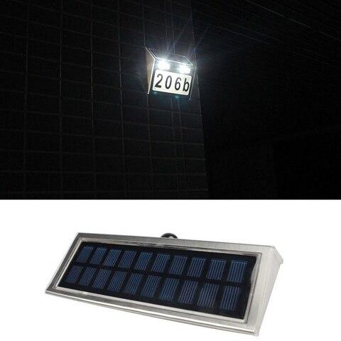diodo emissor de luz solar movido