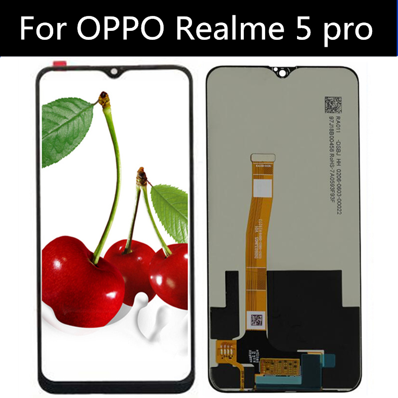 """6.3"""" LCD For OPPO Realme5 PRO LCD Display Touch Screen Replacement Accessory For OPPO Realme 5 PRO RMX1971 LCD"""
