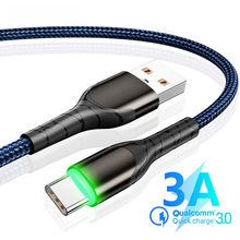 3A Tipo C Cavo di Ricarica Veloce USB Micro Cavo per Samsung S20 S10 9 Più Xiaomi mi10 9 Huawei P40 tipo Kabel per MacBook Microusb