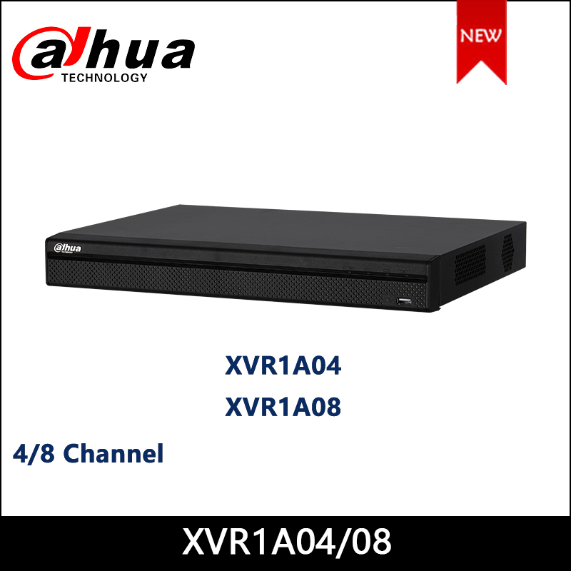 Dahua XVR1A04 XVR1A08 4/8 Channel Penta-brid 1080N/720P Cooper 1U Digital Video Recorder