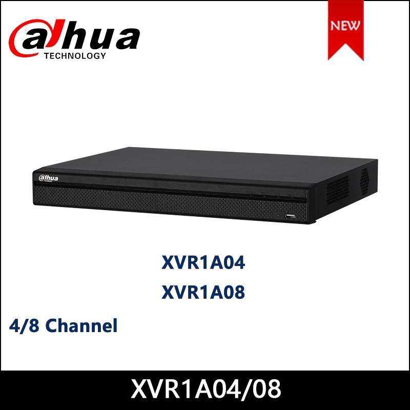 Dahua XVR1A04 XVR1A08 4/8 Channel Penta-brid 1080N/720P Cooper 1U Digital Video Recorder