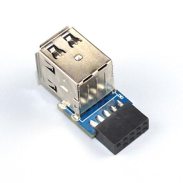Adattatore professionale A doppio strato stabile di ricambio Bluetooth da 9 Pin A una porta durevole Mini USB 2.0 facile da installare