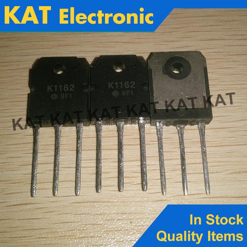 5PCS/Lot 2SK1162 K1162 500V 10A TO-3P
