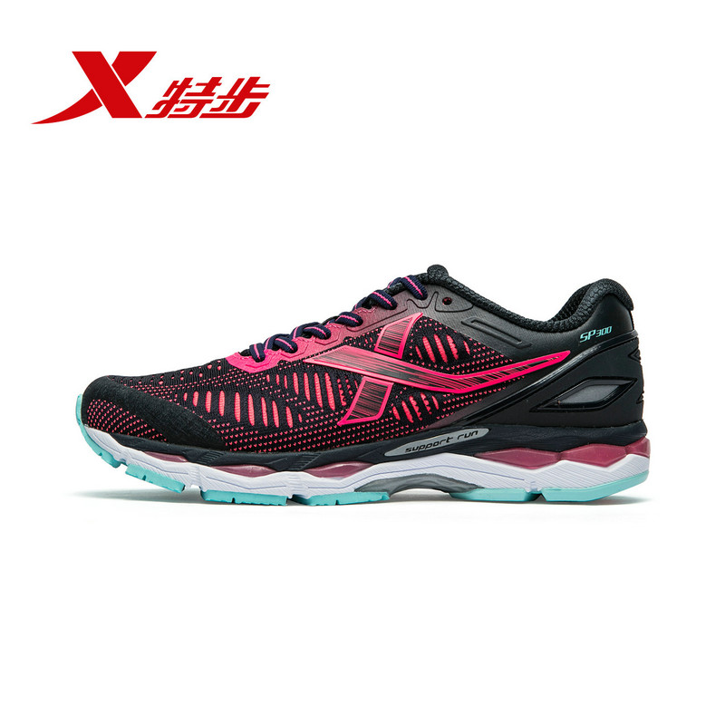 Xtep [Marathon Racing 300]  Women's Running Shoes Autumn New Breathable Women Sport Shoe Light Weight 982318110058