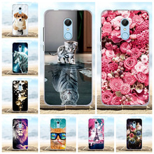 For Coque Xiaomi Redmi 5 4A 4X 5A 6A Case 3D Silicone Cover For Xiaomi Redmi 5 4x 5a 6a Case For Xiaomi Redmi 5 Plus Phone Cases цена