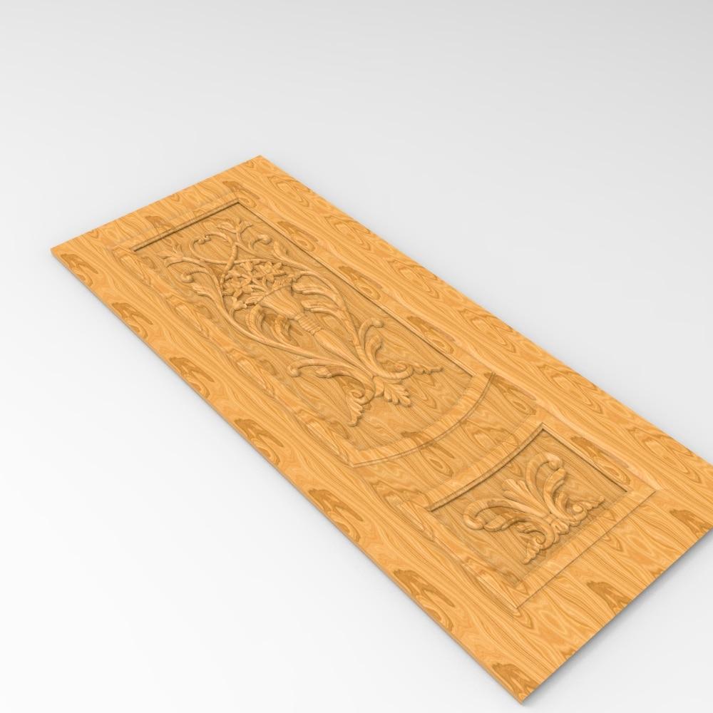 Board Panel Relief 3D Model STL Format File CNC Router Carving ArtCAM Aspire Type3 JDpaint Engraving Carving File A2007