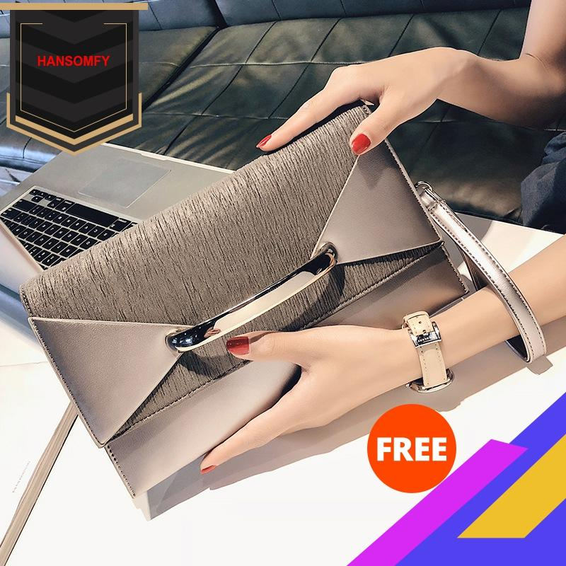 Hot Selling 2020 New Style Dinner Handbag Womens Carrying Envelope Bag Womens High Quality Free Shipping purses and handbagsClutches   -