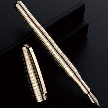 DARB dolma kalem yüksek kaliteli iş ofis Metal oyma mürekkep yazma paslanmaz çelik klasik kırtasiye okul malzemeleri