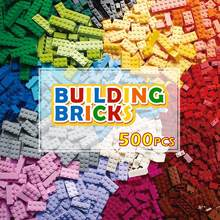 1200 pçs blocos de construção brinquedo colorido diy criativo tijolos modelo fabricantes marcas compatíveis brinquedos educativos para crianças